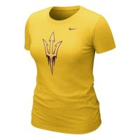 Nike Arizona State Sun Devils Womens Graphic Blended T-shirt