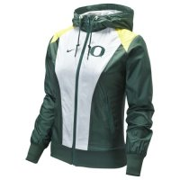 Nike Oregon Ducks Womens Full-zip Sprint Jacket