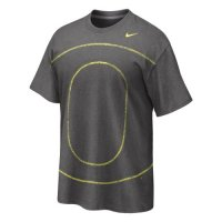 Grey Nike Oregon Ducks Big Time T-shirt