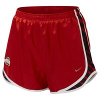 Nike Ohio State Buckeyes Womens Seasonal Tempo Short