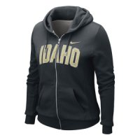 Nike Idaho Vandals Womens Classic Full-zip Hooded Sweatshirt