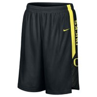 Black Nike Oregon Ducks Replica Basketball Shorts