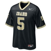 Nike Idaho Vandals Replica Football Jersey - #5 Black