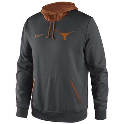 Nike Texas Longhorns Basketball Performance Hooded Sweatshirt