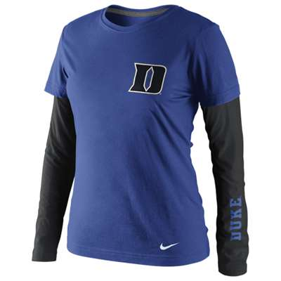 Nike Duke Blue Devils Women's Seasonal Long Sleeve T-Shirt