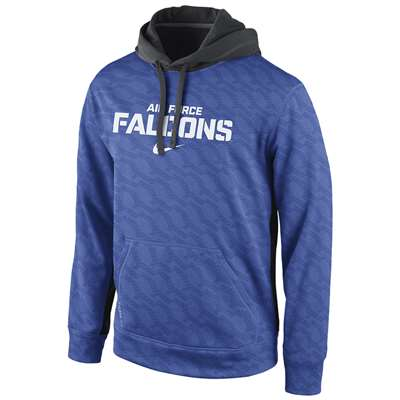 Nike Air Force Falcons Pullover KO Hooded Sweatshirt
