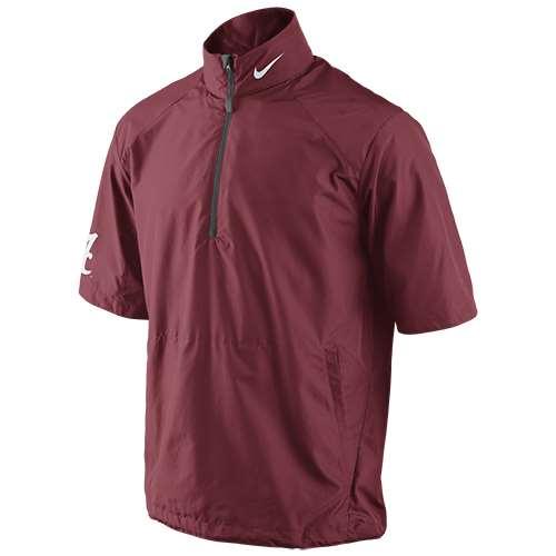Nike Alabama Crimson Tide Short Sleeve Hot Jacket