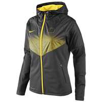 Nike Oregon Ducks Womens Fanatic Hooded Jacket