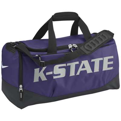 Nike Kansas State Wildcats Team Training Medium Duffle Bag