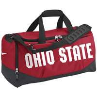 Nike Ohio State Buckeyes Medium Duffle Bag