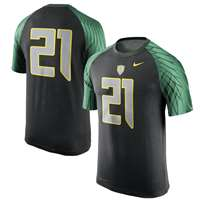 Nike Oregon Ducks Dri-FIT Football Jersey T-Shirt