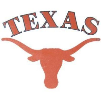 Texas High Performance Transfer Decal - Texas Over Primary Logo