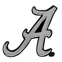 Alabama Crimson Tide Chrome Auto Emblem