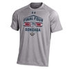 UA Gonzaga Bulldogs Final Four Performance T-Shirt - Grey