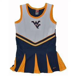 West Virginia Mountaineers Nike Girls Cheer Dress