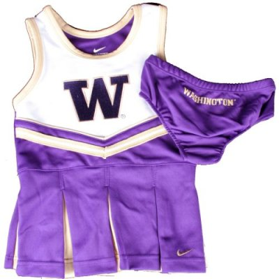Nike Youth Washington Huskies Girls 2-piece Cheer Dress