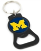 Michigan Bottle Opener Keychain With Domed Acrylic Insert