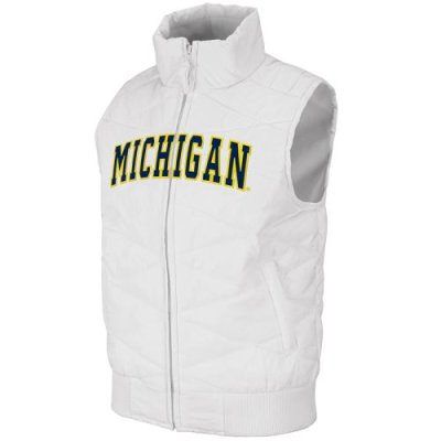 Michigan Wolverines Womens Nordic Vest