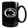 Penn State 15oz Black Ceramic Mug