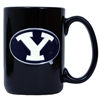 Byu 15oz Black Ceramic Mug