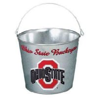 Ohio State Galvanized Pail 5 Quart