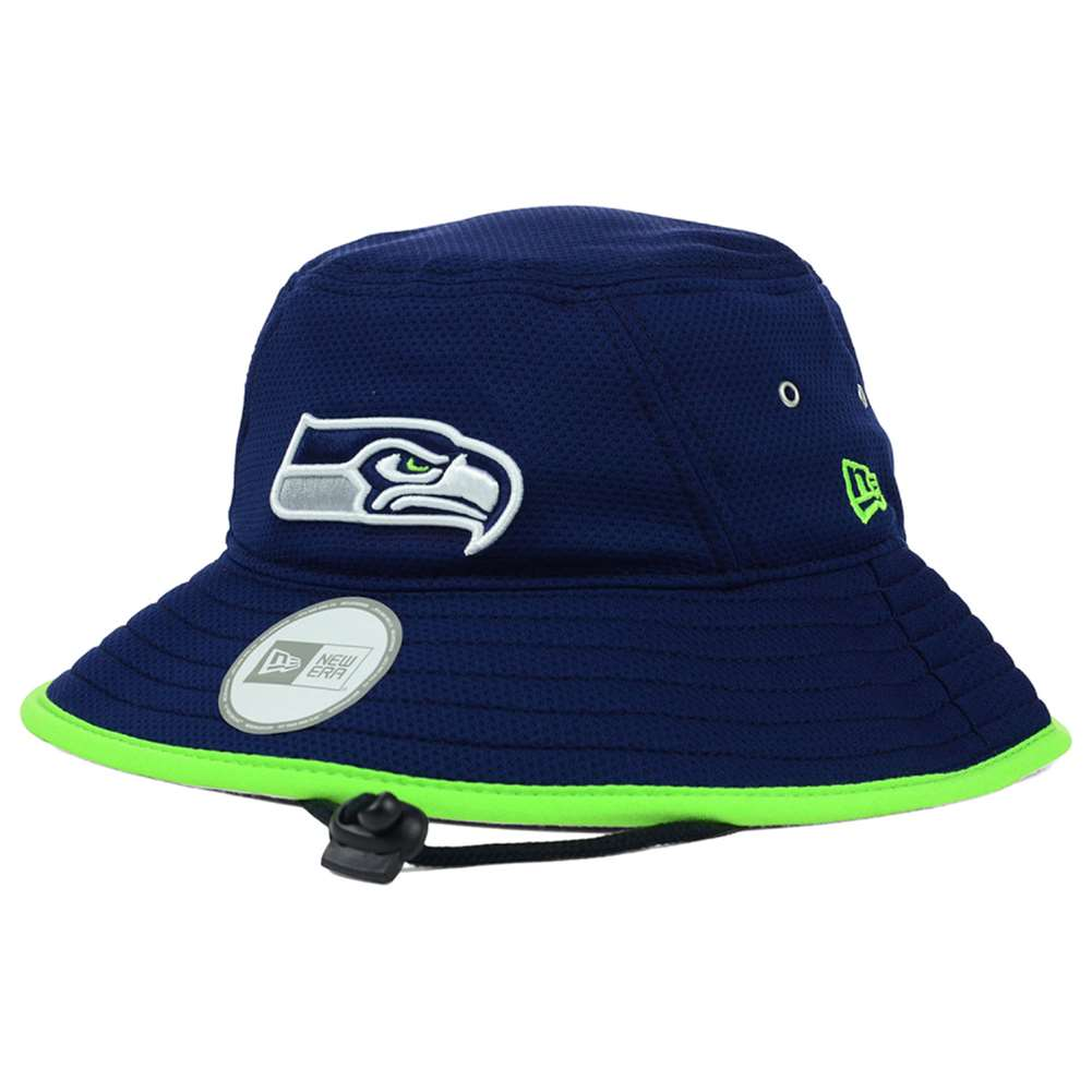 seattle seahawks new era team training bucket hat. Black Bedroom Furniture Sets. Home Design Ideas