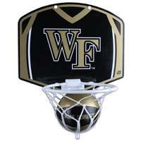 Wake Forest Demon Deacons Mini Basketball And Hoop Set
