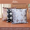 Velvet Disc Cushion Cover