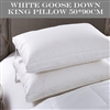 King White Goose Down Pillows