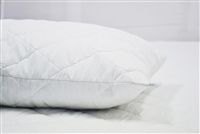 Pair Quilted Pillow Protector - Standard