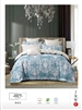 Luxury Printed Pure Cotton Quilt Cover Set- Periz