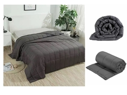 Weighted Blanket Stress Relieving - Anthracite 150 x 200cm 7KG