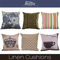 Benson  Linen Cushion Cover