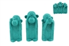 THREE WISE MONKEYS - AQUA