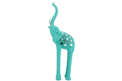 Tall elephant Mint 46cm