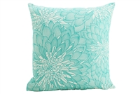 In bloom #5 mint cushion 45x45