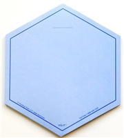 VIS-IT™ Blue Hexagons Pad