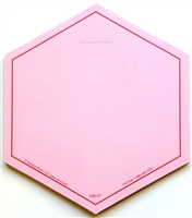 VIS-IT™ Red Hexagons Pad