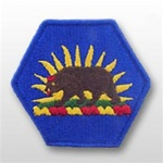California State Headquarters - FULL COLOR PATCH - Army