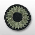 ACU Unit Patch with Hook Closure:   National Guard - Kansas State Headquarters