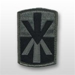 ACU Unit Patch with Hook Closure:  11TH AIR DEFENSE ARTILLERY BRIGADE