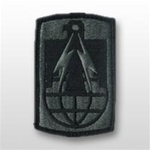 ACU Unit Patch with Hook Closure:  11TH SIGNAL BRIGADE