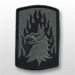 ACU Unit Patch with Hook Closure:  12th Aviation Brigade