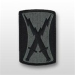 ACU Unit Patch with Hook Closure:  106TH SIGNAL BRIGADE