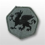 ACU Unit Patch with Hook Closure:  108TH AIRBORNE TRAINING