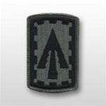 ACU Unit Patch with Hook Closure:  108TH AIR DEFENSE ARTILLERY