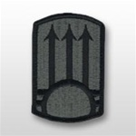 ACU Unit Patch with Hook Closure:  111TH AIR DEFENSE ARTILLERY BRIGADE
