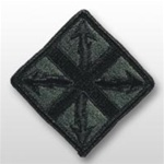 ACU Unit Patch with Hook Closure:  142ND SIGNAL BRIGADE