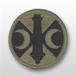 ACU Unit Patch with Hook Closure:   210TH FIELD ARTILLERY BRIGADE