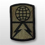 1108th Signal Brigade - Subdued Patch - Army - OBSOLETE! AVAILABLE WHILE SUPPLIES LASTS!